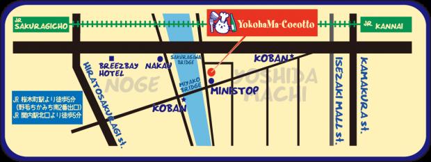 YOKOHAMA COCOTTO MAP
